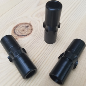 HK Style Extended Base 3-Lug Suppressor adapter