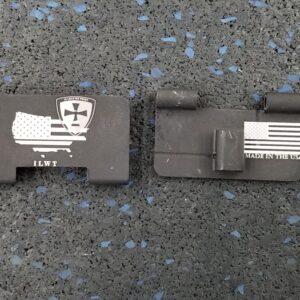 Gen II/Gen III MPX Alloy Dust Covers, Ejection Door Covers