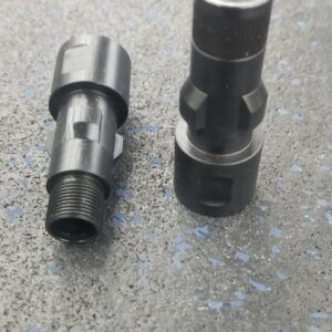 HK Style 5/8-24  3-Lug Suppressor adapter